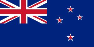 Současná vlajka Nového Zélandu